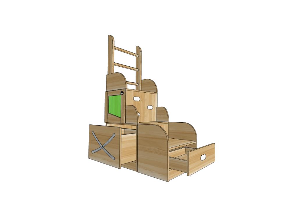 Детская мебель. Горка лестница