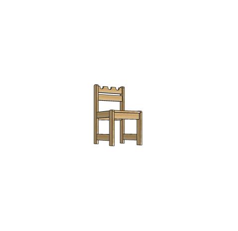 Детская мебель, стульчик