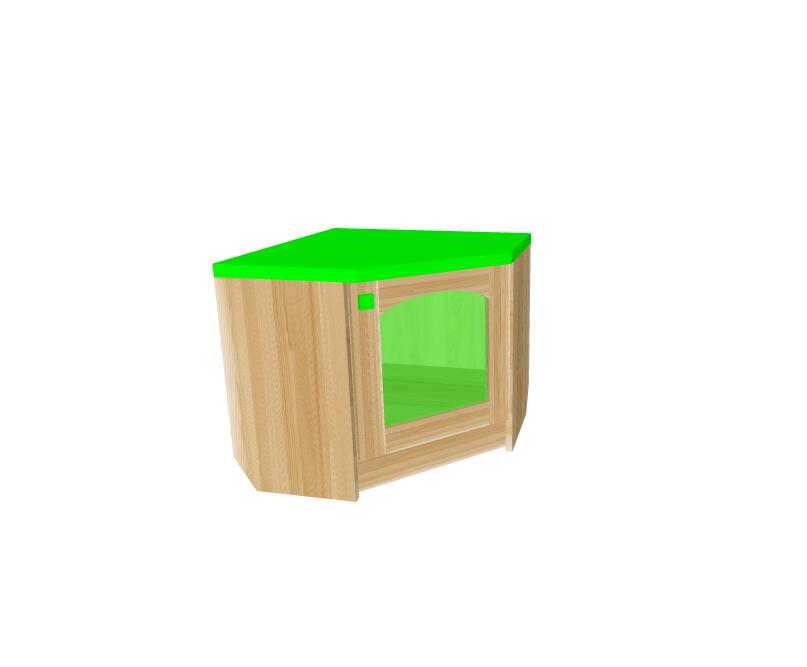 детская мебель комод угловой