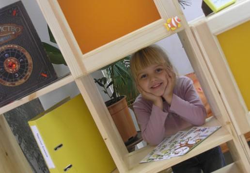 Детская мебель кубики