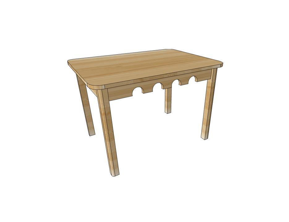 Детская мебель, столик