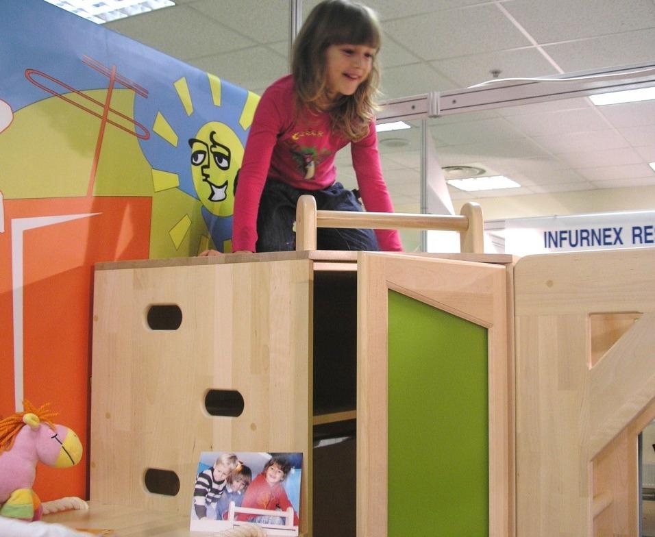 Детская мебель развивающая от Полосатой Лошадки